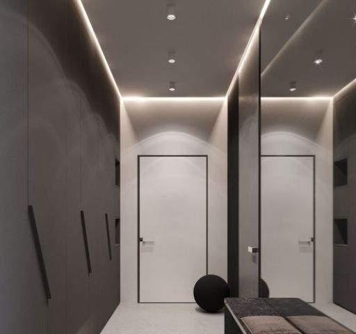 как визуально увеличить комнату - подсветка