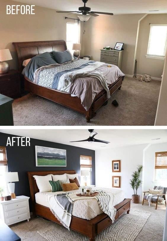 Увеличить комнату с помощью цвета