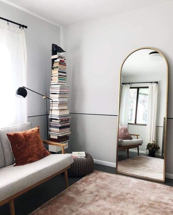 как визуально увеличить комнату - зеркала