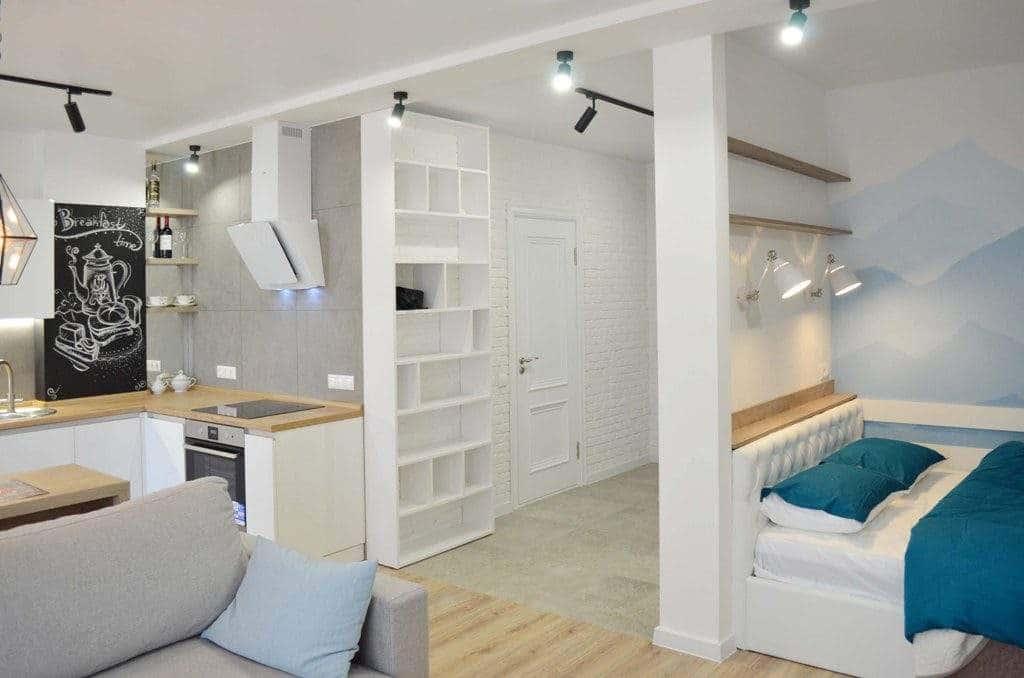 Дизайн квартиры под сдачу в Минске