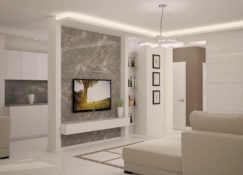 Дизайн-проект 2-комнатной квартиры, пр. Независимости, 185, Минск