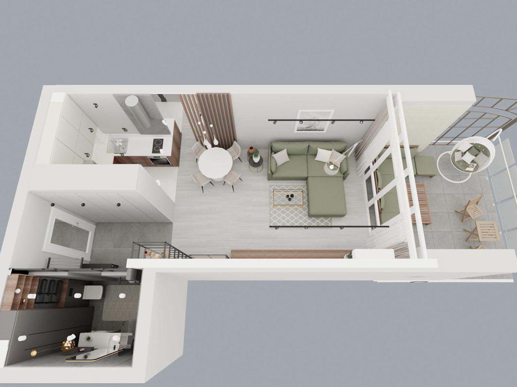 дизайн интерьера квартиры в жк Вог Минск (1)