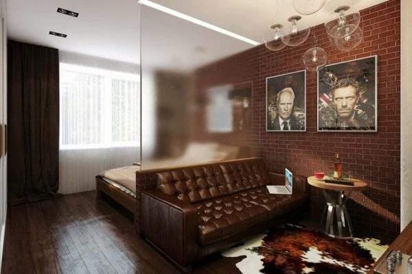 spalnya-i-gostinaya-v-1-komnate-loft-steklo
